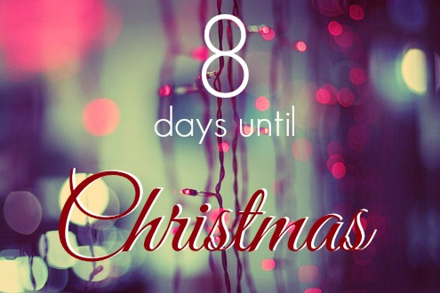 8daysuntilchristmas