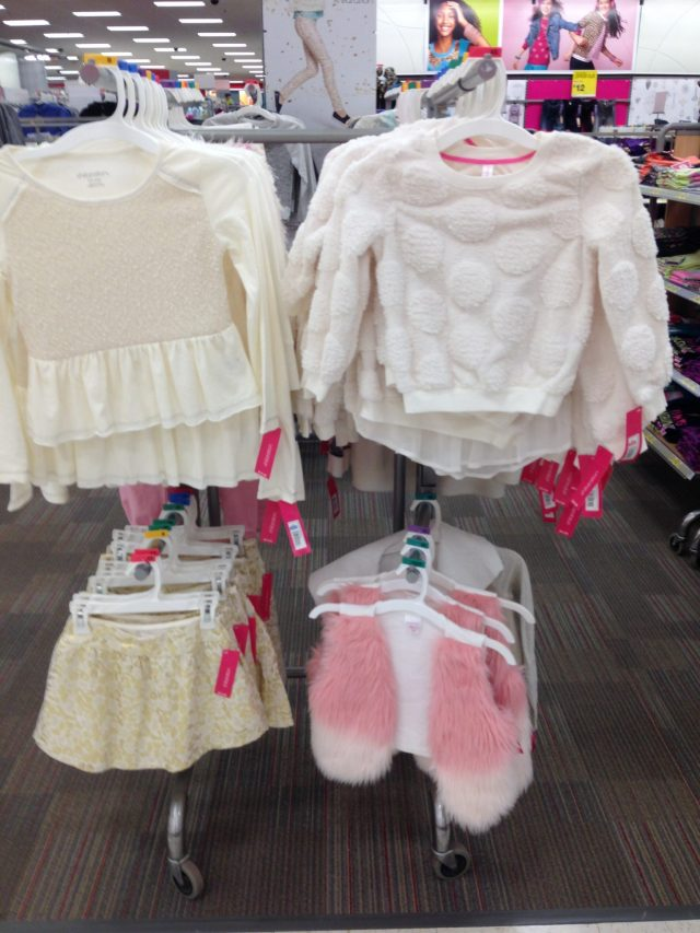 Side note - I really wish I fit into children's clothes. Or had a cute little girl to dress up. One dayyy! :)