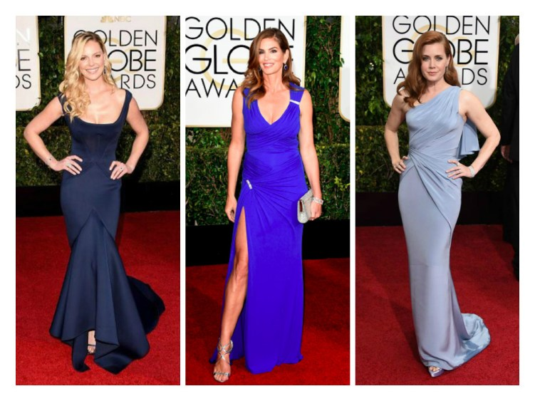 Katherine Heigl in Zac Posen, Cindy Crawford in XXX, Amy Adams in XXX