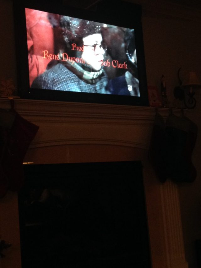 When we got home that night we watched A Christmas Story. One of my favorite Christmas movies :)