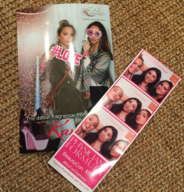 Fun Photobooth pics! We got to snap a few with Jessica Harlow at the Physicians Formula booth :)