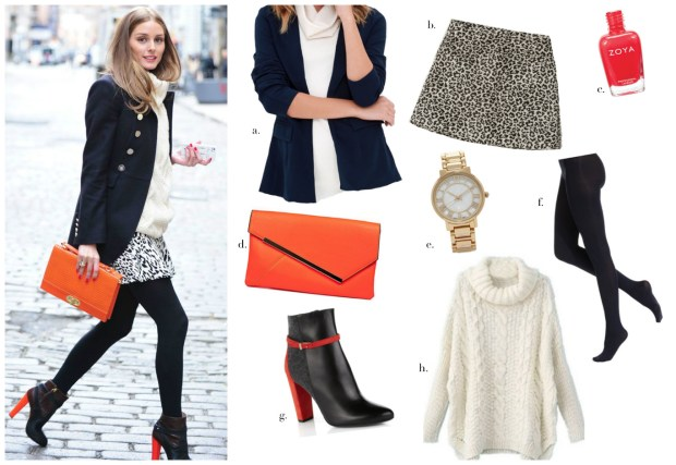 Olivia Palermo look for less2