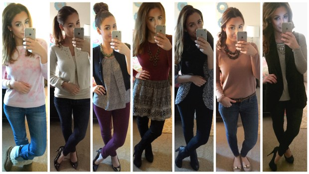 In case you missed it...click here to see my looks from week 17!