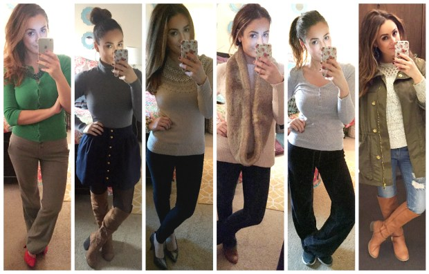 In case you missed it...click here to see my looks from Week 18!