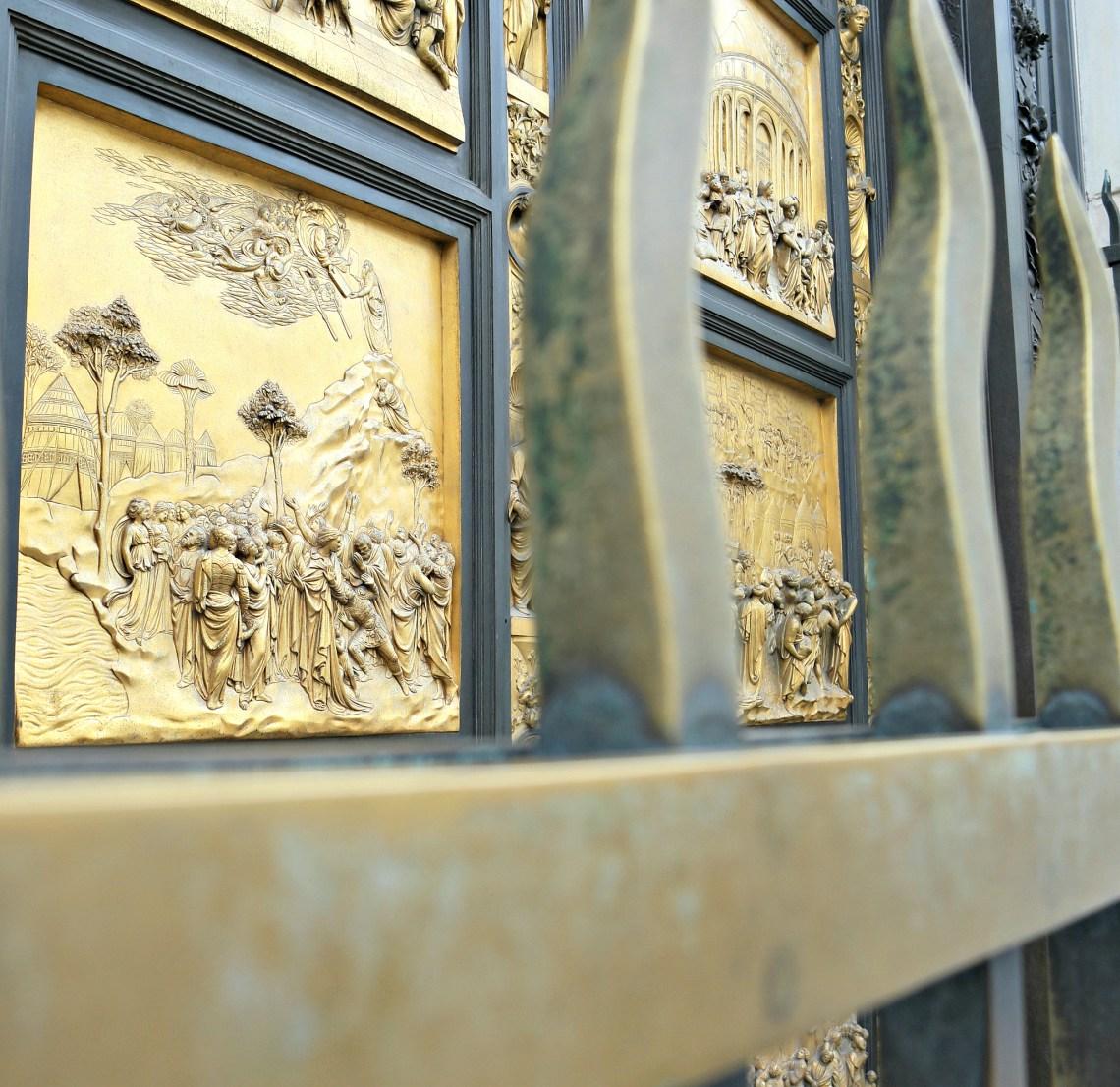 gold doors