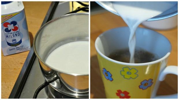 Add milk