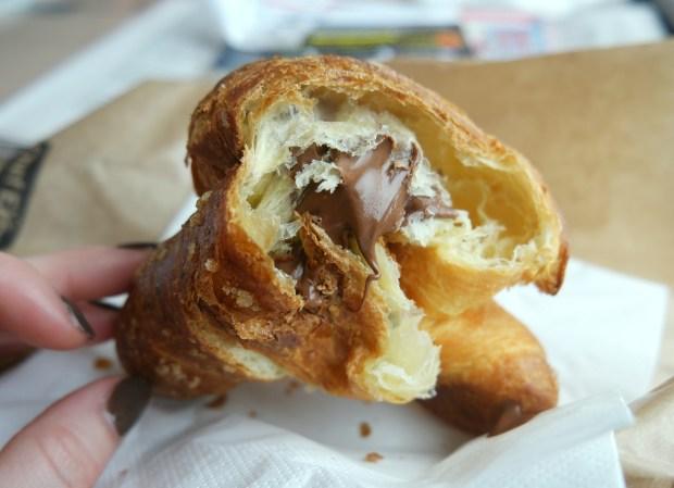 nutella croissant