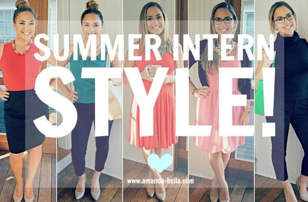 Intern style header
