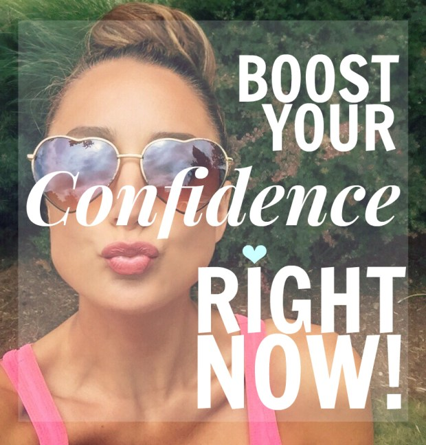boost your confidence