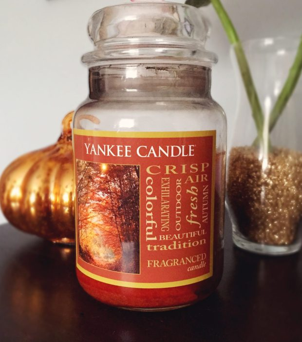 yankee fall candles