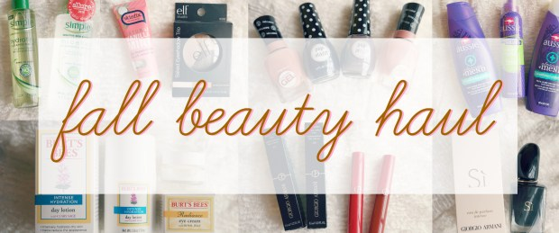 fall-beauty-haul-header