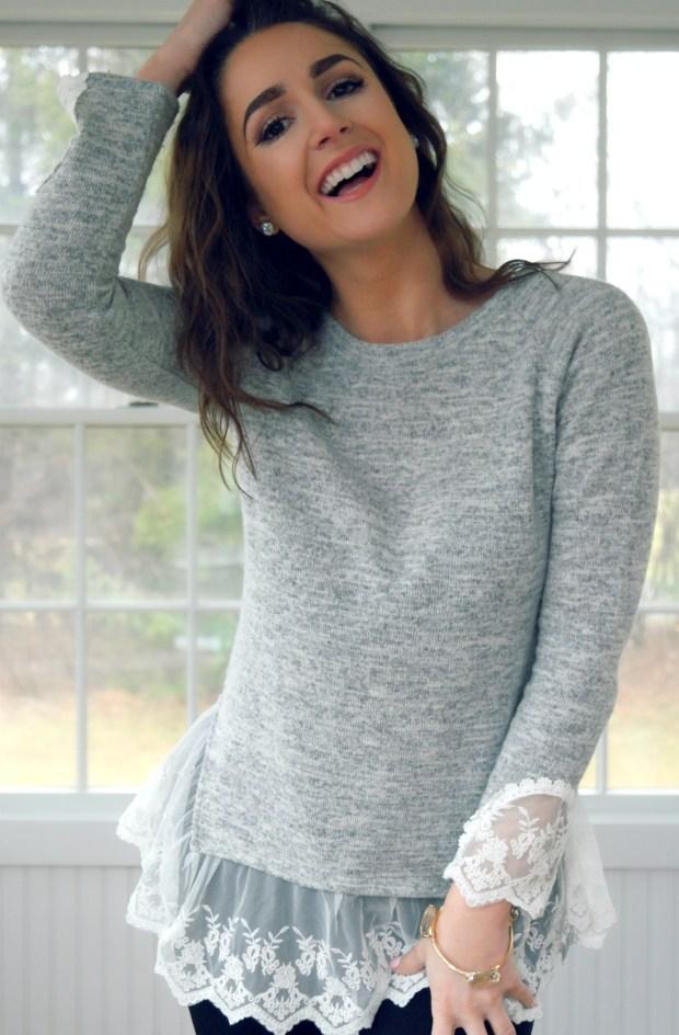 my demure hartley sweater