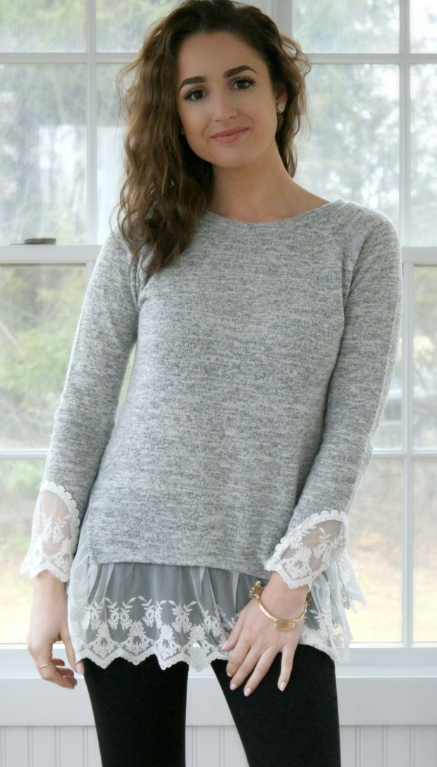 demure online boutique hartley sweater