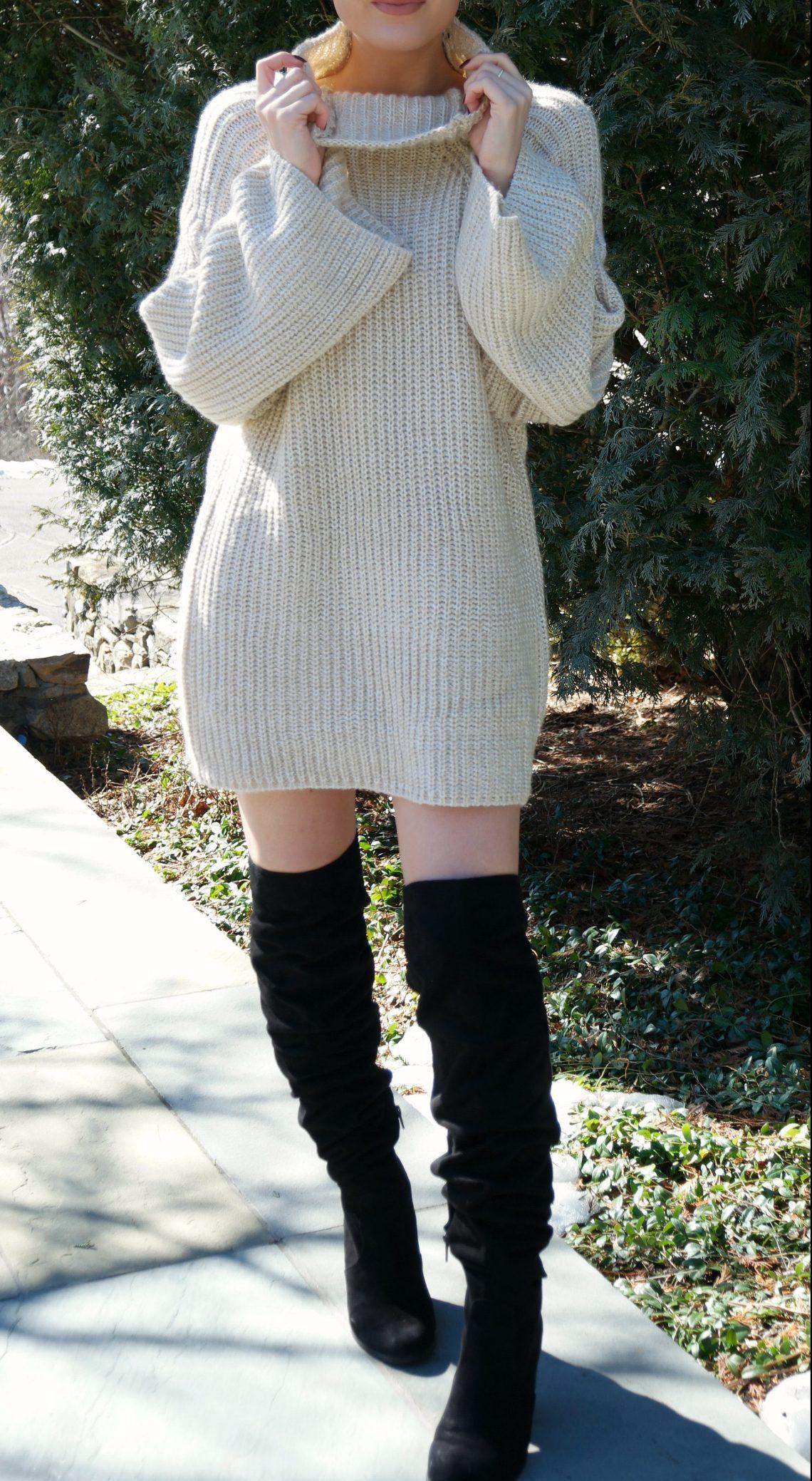 shein-oversized-turtleneck-sweater-dress-2
