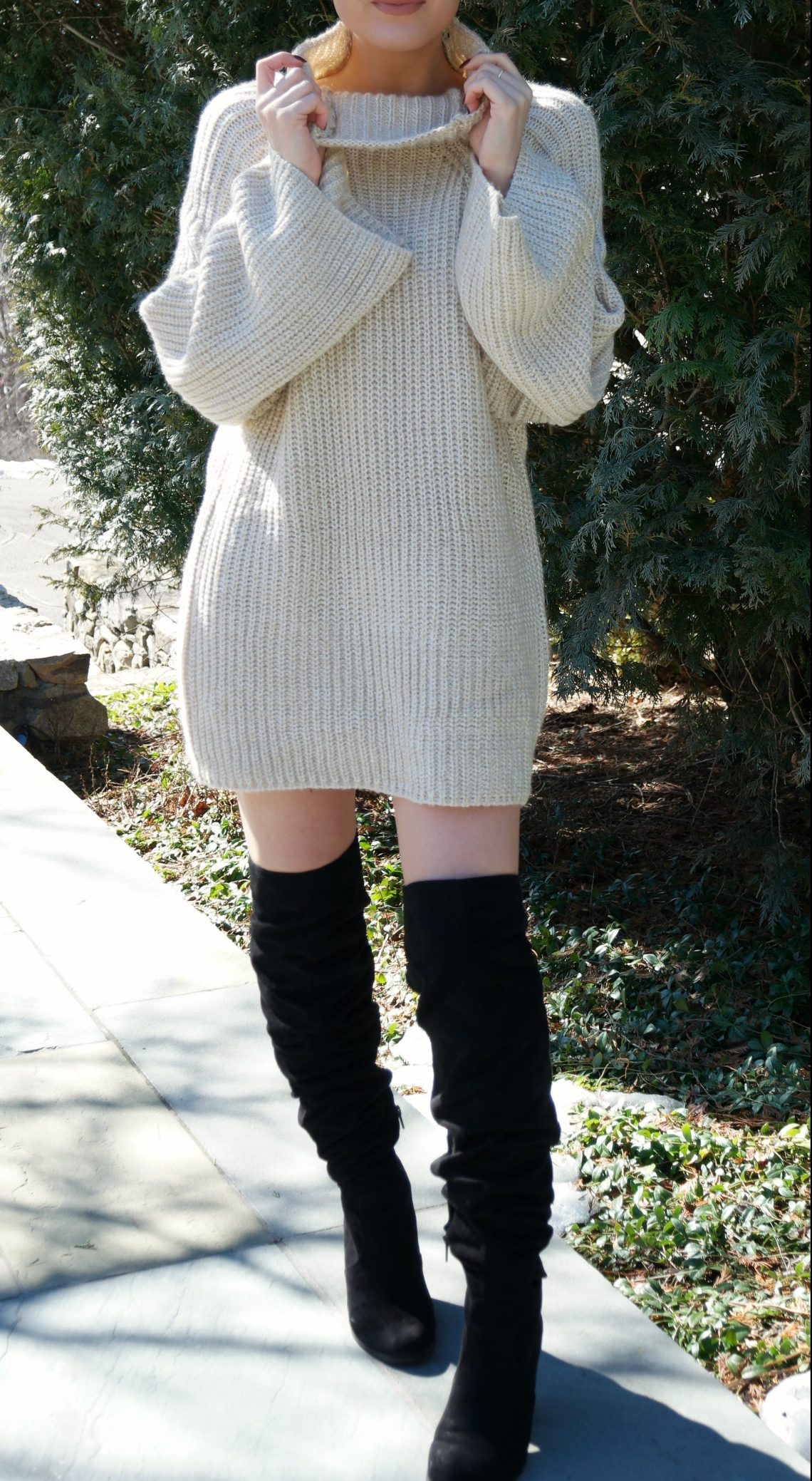 shein-oversized-turtleneck-sweater-dress-2