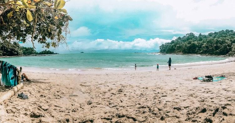 Manuel Antonio National Park beach view