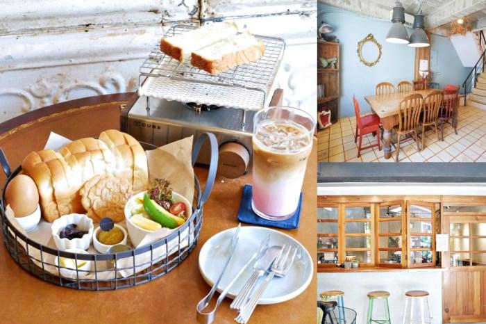 韓系DIY自烤吐司『花樓二店 Follow Coffee Green』不用飛出國,好拍又好吃!台南美食 台南中西區 台南早午餐