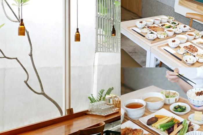 台南美食『小碗和食』隱身於巷弄裡的溫潤和風定食。台南東區 成大美食 大學路18巷