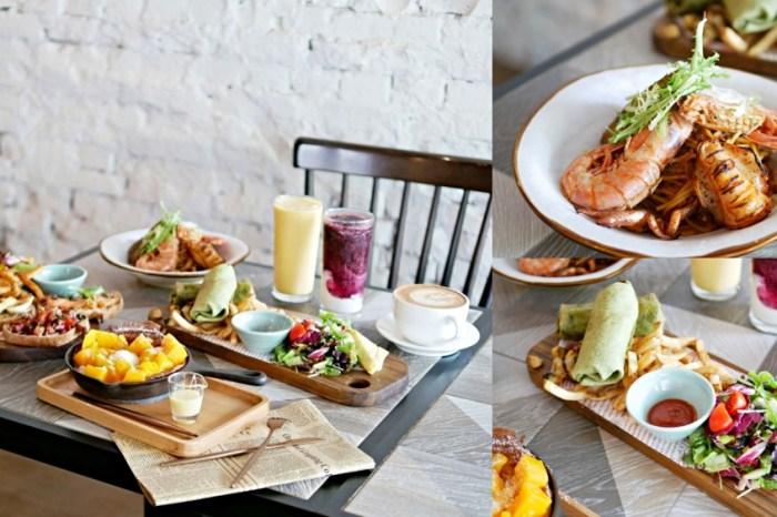 台南美食『In Stock 飲食客』半世紀老宅裡的和煦早午餐,夜晚搖身一變成為迷人餐酒館!台南中西區|台南餐酒館