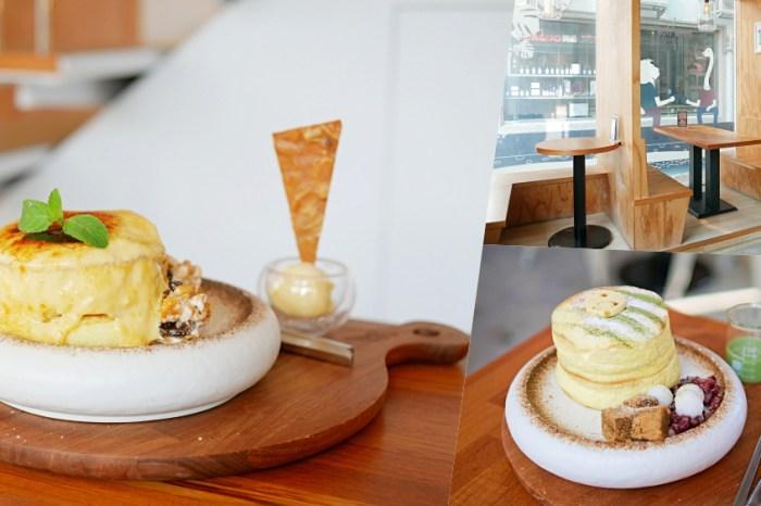 讓人一吃愛上的舒芙蕾厚鬆餅『成真咖啡』正興街有插座WiFi的冠軍咖啡廳!食尚玩家推薦 海安路美食
