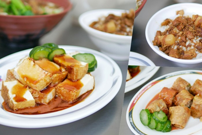 在地30年黑白切麵店升級2.0『双生的店』招牌菜特製雞捲、香酥豆腐吃起來!台中小吃|台中北屯區