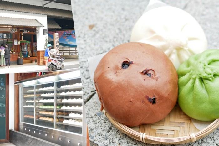 堅持40多年的傳統好味道『阿明肉包』口味多達11種的繽紛包子饅頭吃起來!屏東美食|潮州美食|食尚玩家推薦
