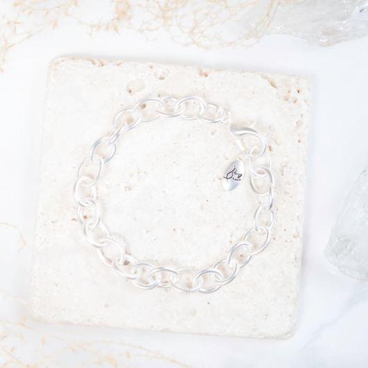 Chain Bracelet - Matte Silver