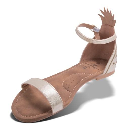 Maui Sandal - Gold Size 11