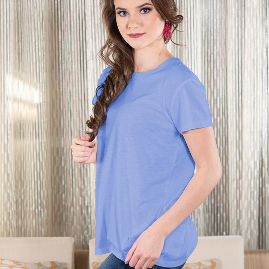 Luxe T-Shirt - Periwinkle