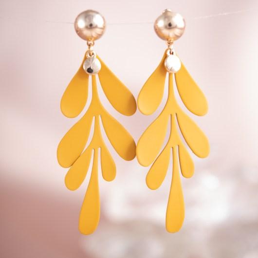 Splash Earrings -  Honey
