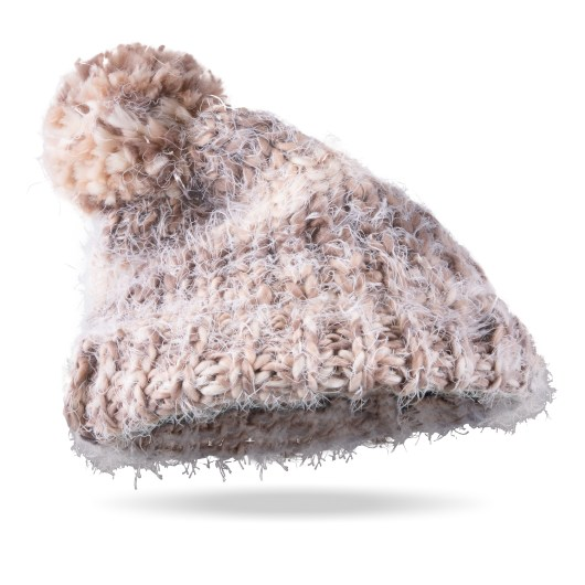 Alpine Ombre Pom Hat Alpaca