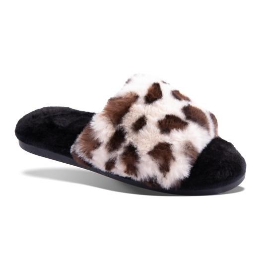 Leopard Slide Slippers