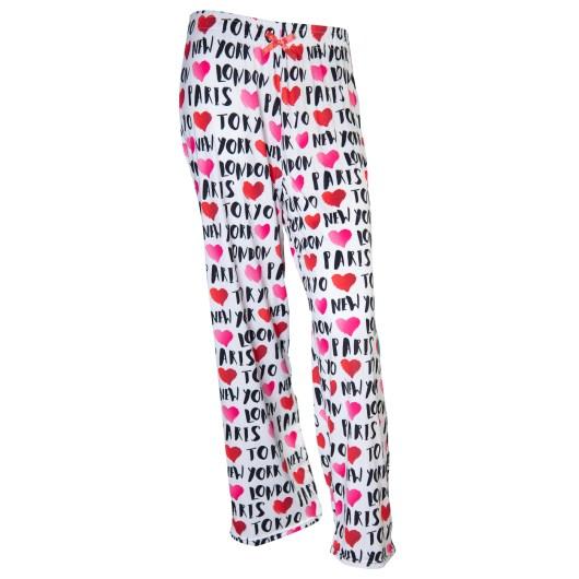 Pajama Pants Size XLarge - Travel Hearts
