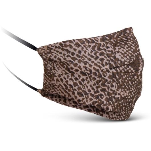 Fabric Mask - Brown Snake