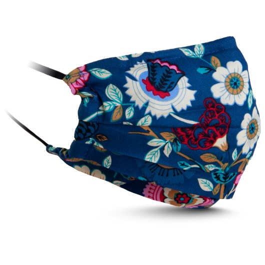 Fabric Mask - Blue/Pink Floral