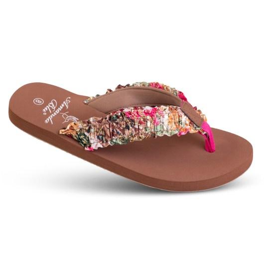 Shea - Ruffle Soft-Step Sandal