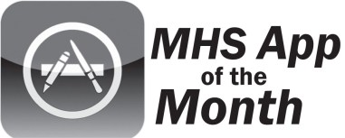App of the month logo