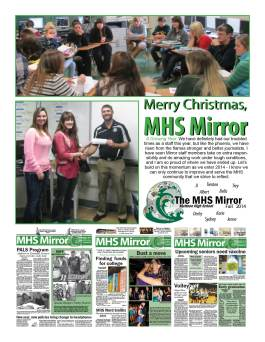 Each year, I honor my staffs and seniors by creating a keepsake of our publication and memories together.