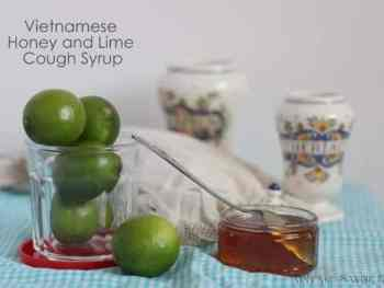 amandacook.me Lime and Honey Cough Syrup