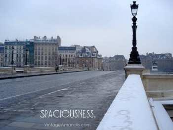 Spaciousness.
