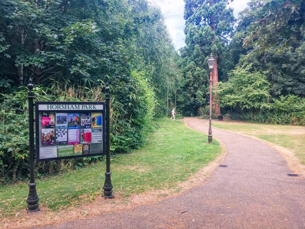 Horsham Park with Giant Sequoia