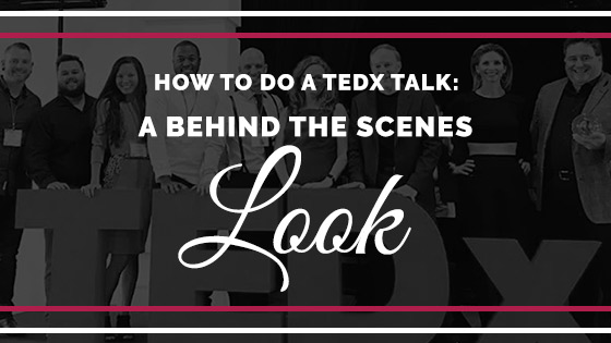 how to become a ted speaker
