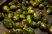 November 22, 2012. Roasted Brussel Sprouts.