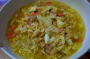 December 18, 2012. Chicken Noodle Soup.