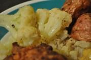 April 19, 2012. Cauliflower with Anchovies, from Mondadori Regional Italian Cookbook.