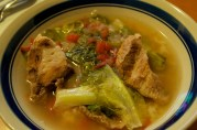 September 15, 2012. Pork Sinigang. Love this all of the time.