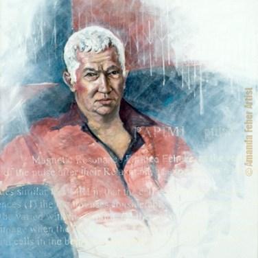 amanda_feher_painting_figurative_oils_Portrait_of_Enzo_Dali