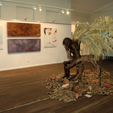 The installed exhibition 2