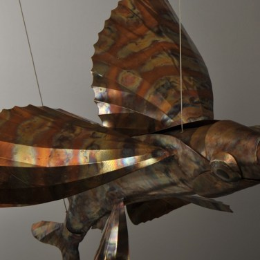 amanda_feher_sculpture_public_art_copper_and_stainless_steel_Flight_School_Flying_Fish_Strand Ephemera_Fish7.1