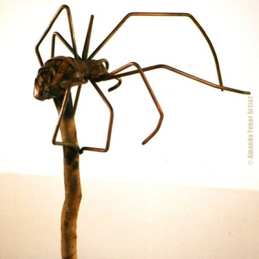 amanda_feher_sculpture_public_art_Oralia_spider_pioneer_park_Townsville_City_Council_maquette1
